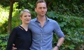 Crimson Peak: Mia Wasikowska e Tom Hiddleston a Roma