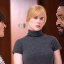 Secret in Their Eyes: Julia Roberts, Nicole Kidman e Chiwetel Ejiofor in una scena del film