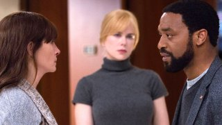 Secret in Their Eyes: Julia Roberts, Nicole Kidman e Chiwetel Ejiofor in una scena del film