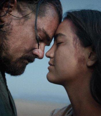 Revenant - Redivivo: Leonardo DiCaprio e Grace Dove Syme interpretano Hugh Glass e sua moglie