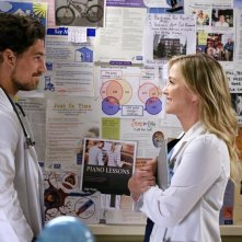 Grey's Anatomy: Joe Dinicol e Jessica Capshaw in Sledgehammer