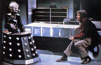 Doctor Who: Tom Baker con Davros in Genesis of the Daleks