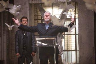 Hand of God: gli attori Julian Morris e Ron Perlman
