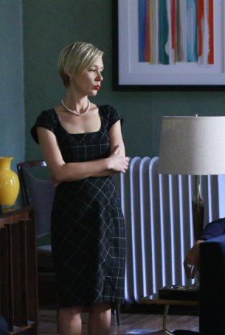 Le regole del delitto perfetto: l'attrice Liza Weil in un'immagine della première It's Time to Move On