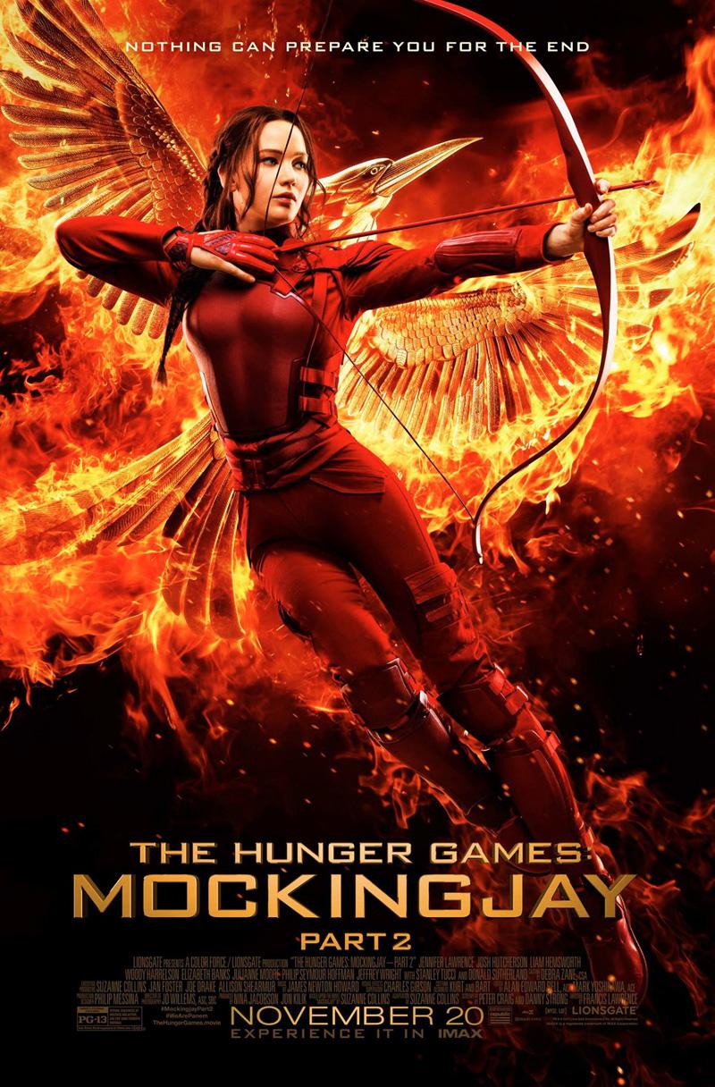Hunger Games: Il Canto della Rivolta - Parte 2: una nuova locandina dedicata a Katniss