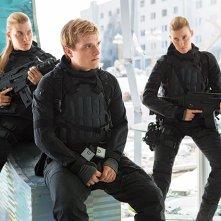 Hunger Games: Il Canto della Rivolta - Parte 2: Misty Ormiston, Josh Hutcherson e Kim Ormiston