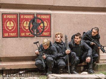 Hunger Games: Il Canto della Rivolta - Parte 2: Josh Hutcherson, Sam Claflin, Wes Chatham ed Evan Ross