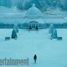 Hunger Games: Il Canto della Rivolta - Parte 2: Jennifer Lawrence in un paesaggio innevato