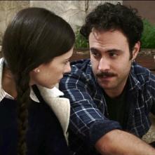 La bugia bianca: Alessio Vassallo e Francesca di Maggio in una scena del film