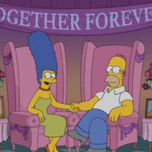 I Simpson: Marge e Homer insieme smentiscono la voce di una crisi