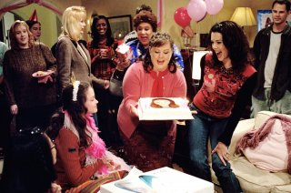 Una mamma per amica: Alexis Bledel, Melissa McCarthy e Lauren Graham in Due feste di compleanno