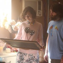 The Last Man on Earth: i protagonisti Kristen Schaal e Will Forte in Is There Anybody Out There?