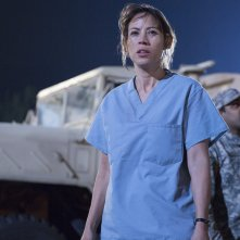 Fear The Walking Dead: Elizabeth Rodriguez in una scena del season finale