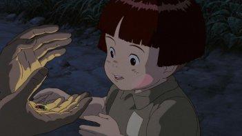 La tomba per le lucciole: una scena del film