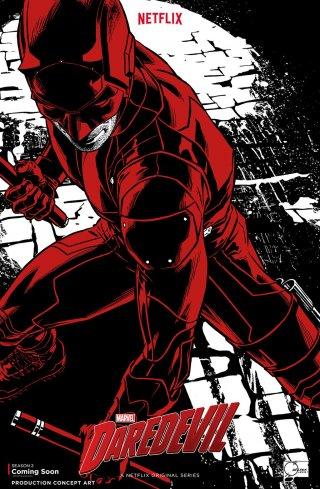 Daredevil: concept art poster della stagione 2