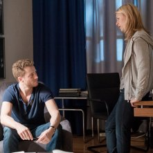 Homeland: Alexander Fehling e Claire Danes in Separation Anxiety