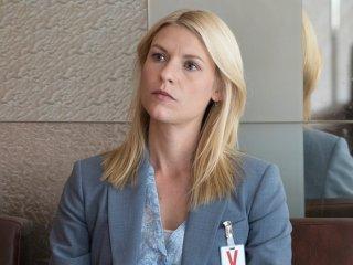 Homeland: l'attrice Claire Danes in una foto della première Separation Anxiety