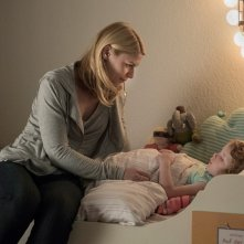 Homeland: la protagonista Claire Danes in una foto dell'episodio Separation Anxiety