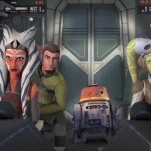 Star Wars Rebels: un'immagine di gruppo della seconda stagione