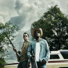 Hap and Leonard: la prima foto di James Purefoy e Michael K. Williams
