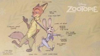 Zootropolis: un bozzetto del film