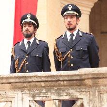Natale col boss: Francesco Mandelli e Paolo Ruffini e Peppino di Capri in una scena del film