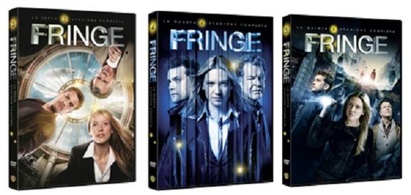Le cover DVD di Fringe