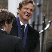 Bridget Jones's Baby: Colin Firth sorride sul set