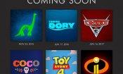 Disney Pixar: annunciate le date d'uscita americane fino al 2020