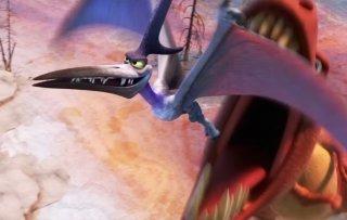 Il viaggio di Arlo: i pterodattili in azione