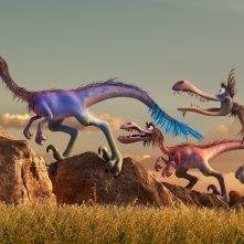Il viaggio di Arlo: i raptors in corsa