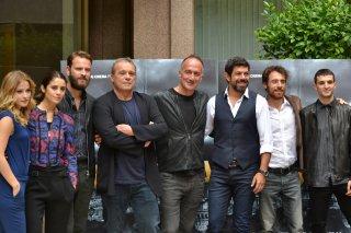 Il cast di Suburra a Roma