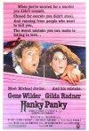 Locandina di Hanky Panky, fuga per due