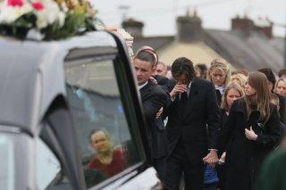 Jim Carrey ai funerali della sua ex-fidanzata