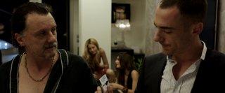 Alaska: Elio Germano e Valerio Binasco in una scena del film