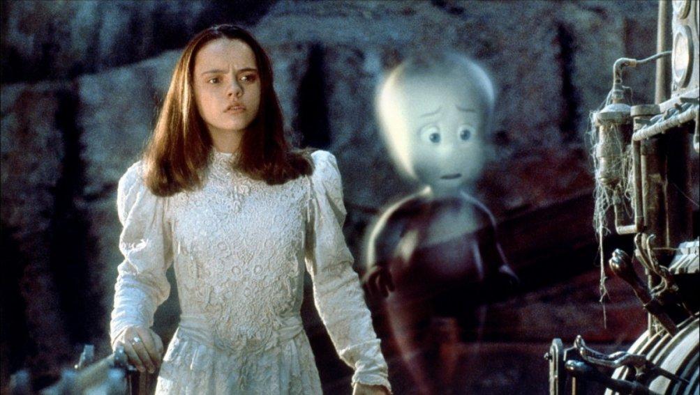 Christina Ricci in una scena di Casper