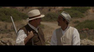 La stoffa dei sogni: Ennio Fantastichini e Sergio Rubini in una scena del film