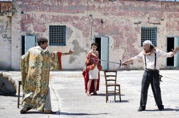 La stoffa dei sogni: Sergio Rubini in un'immagine del film