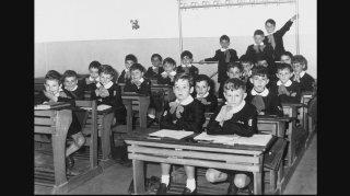 Registro di classe - Parte prima 1900-1960: un'immagine tratta dal documentario di Gianni Amelio e Cecilia Pagliarani