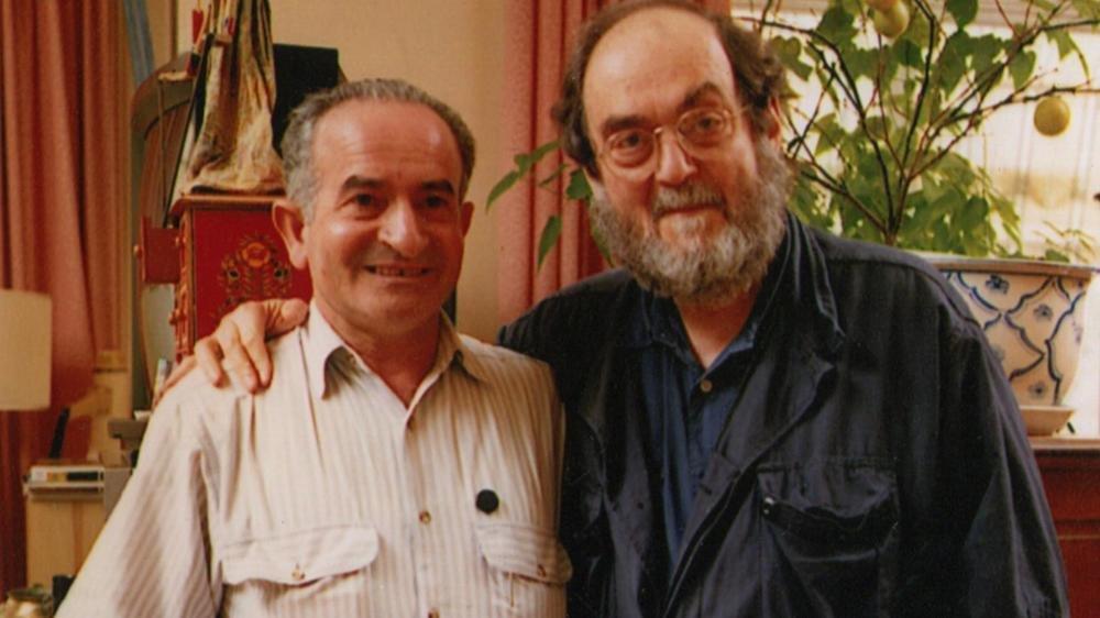 S Is for Stanley: Emilio D'Alessandro e Stanley Kubrick in un'immagine tratta dal documentario