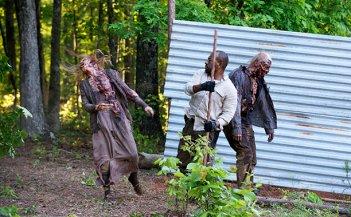 The Walking Dead: Morgan (Lennie James) in azione nella puntata Come la prima volta