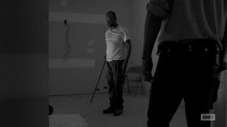 The Walking Dead: l'attore Lennie James interpreta Morgan in Come la prima volta