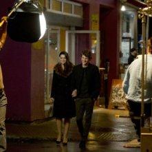 Ville-Marie: Monica Bellucci e Aliocha Schneider in un'immagine dal set del film