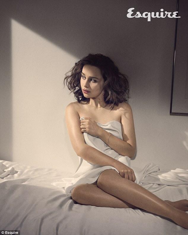 Emilia Clarke su Esquire nel 2015