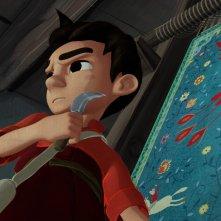 Iqbal: Bambini senza paura, un'immagine tratta dal film d'animazione