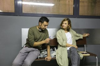 Monitor: il regista Alessio Lauria e Valeria Bilello sul set del film