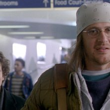 The End of the Tour: Jason Segel e Jesse Eisenberg in un momento del film