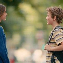 The New Kid: Réphaël Ghrenassia e Johanna Lindstedt in una scena del film
