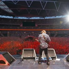 Ed Sheeran - Jumpers for Goalposts: Ed Sheeran sul palco durante uno dei suoi concerti