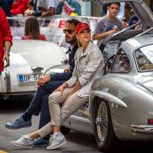 Rosso Mille Miglia: Martina Stella e Fabio Troiano sul set del film